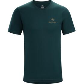 Arc'teryx Emblem Shortsleeve Shirt Men blue